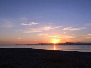 Azohia sunset