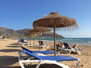 Azohia beach