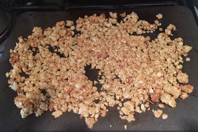 crumble baked