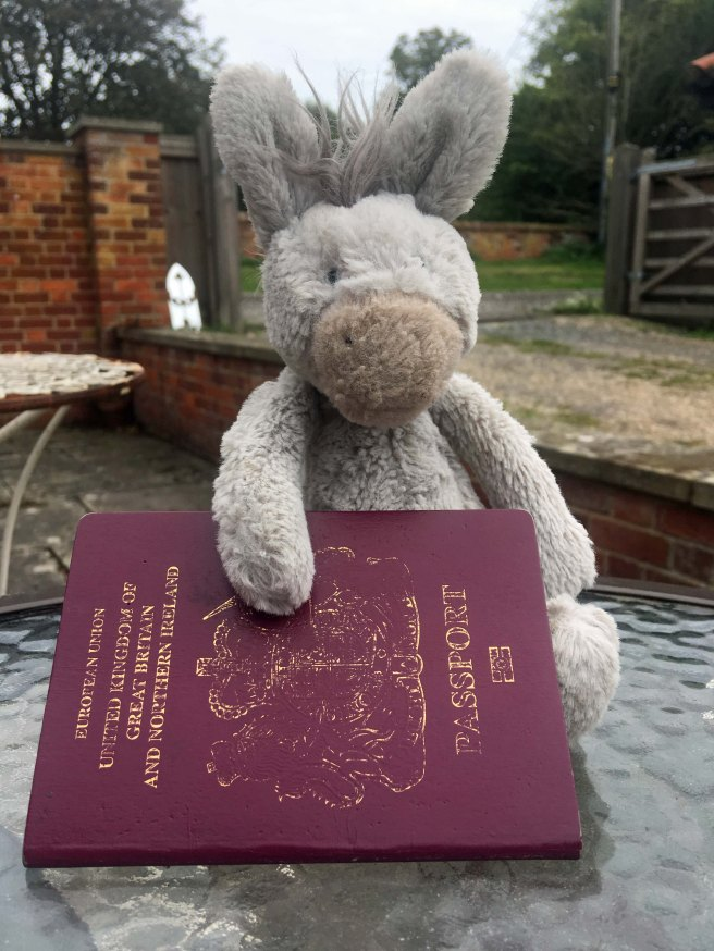 Donk with passport